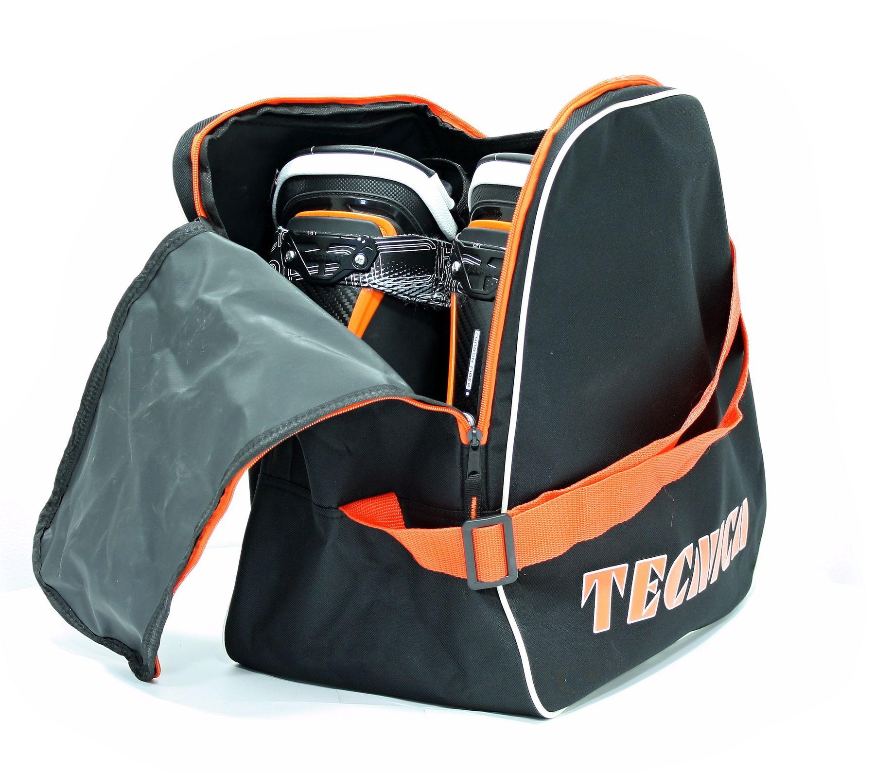 Skiboot bag, black/orange