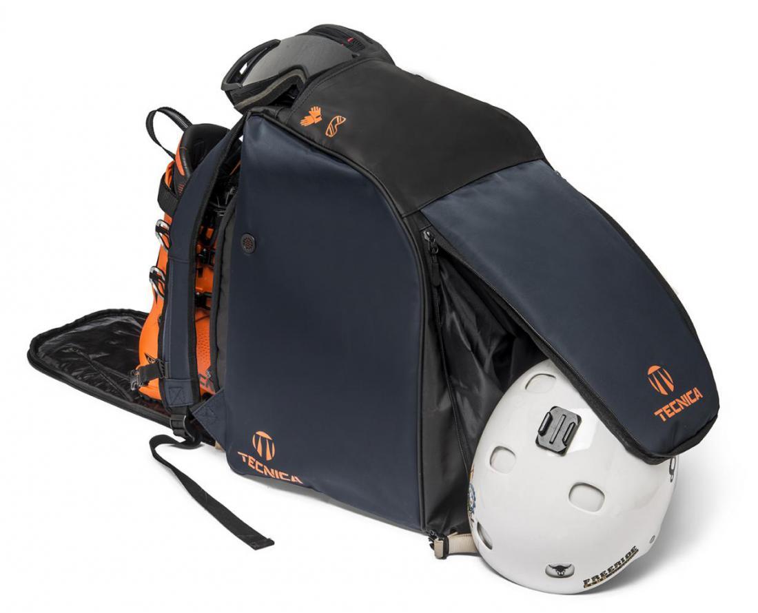 Premium boot bag, 847 blue/orange