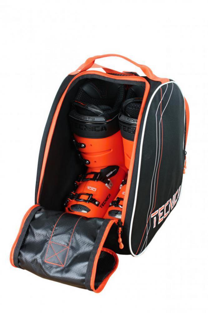 Skiboot bag Premium, black/orange