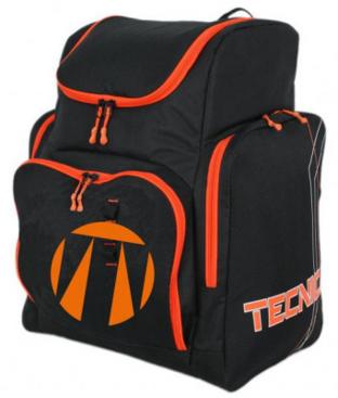 Family/Team Skiboot backpack, black/orange