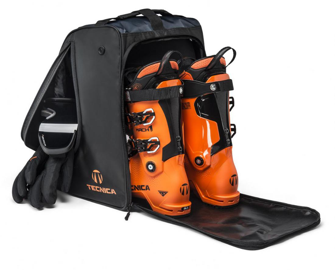 Boot bag, 847 blue/orange