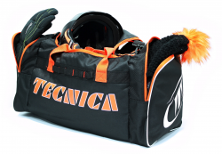Sport bag, black/orange